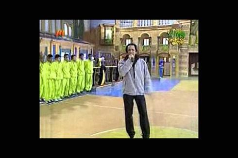 سیدمحمد حسینی مجری مسابقه تلویزیونی در ایران