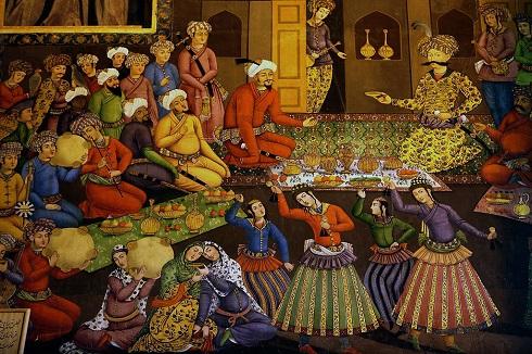 پذیرایی شاه عباس از ولی محمدخان فرمانروای بخارا