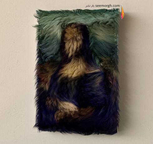 سه بعدی سازی نقاشی هنرمندان بزرگ به روشی خلاقانه و دیدنی + تصاویر
