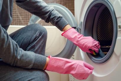 ضدعفونی کردن ماشین لباسشویی با یک ترکیب جادویی,ضدعفونی کردن ماشین لباسشویی
