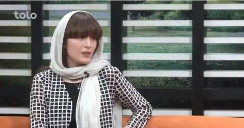 مصاحبه با فرشته حسینی در شبکه ی طلوع