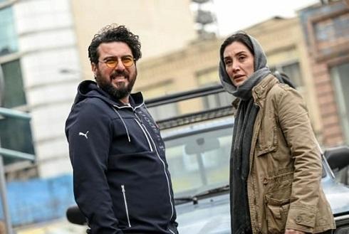 هدیه تهرانی و محسن کیایی در هم گناه