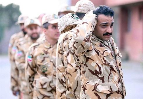 جواد خواجوی در سریال سرباز