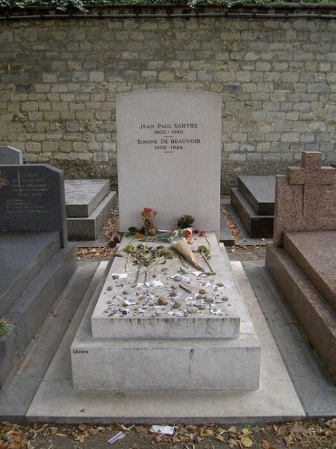 آرامگاه ژان پل سارتر و دوبووار