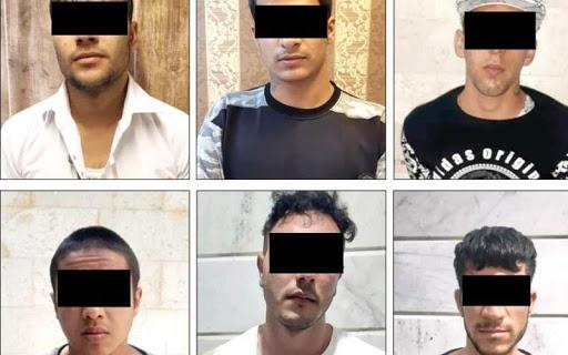 جزئیات دستگیری اعضای باند خفاش های زنگی + عکس