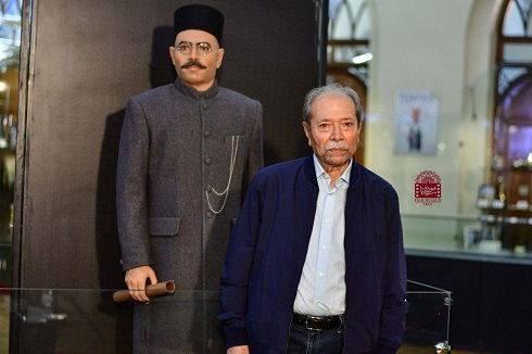مراسم رونمایی از تندیس علی نصیریان در موزه سینما