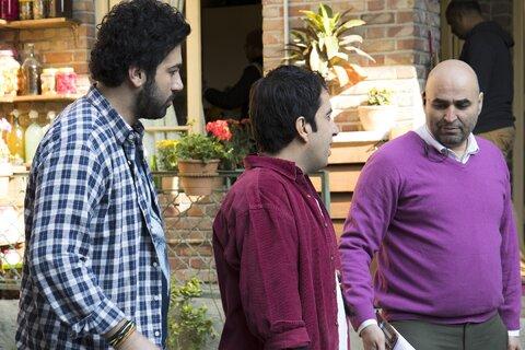 علی صبوری و علی مشهدی در سریال آخر خط
