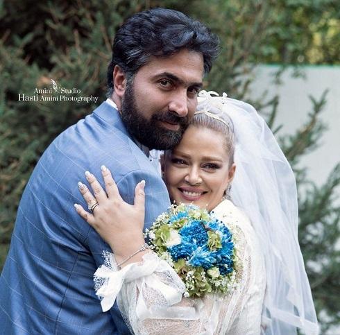 عروسی بهاره رهنما و همسرش امیر خسرو عباسی