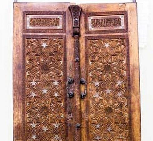 قدیمیترین در چوبی حرم مطهر رضوی