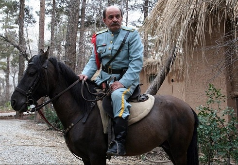 سیروس گرجستانی در سریال کلاه پهلوی