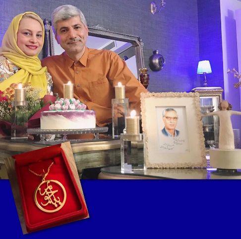 مریم کاویانی در تولد 50 سالگی اش
