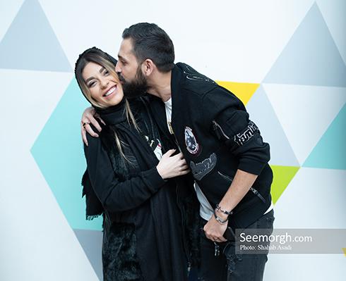 محسن افشانی و همسرش سویل خیابانی