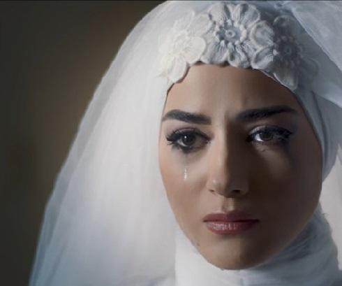 عروسی مانلی یا راضیه در سریال آقازاده