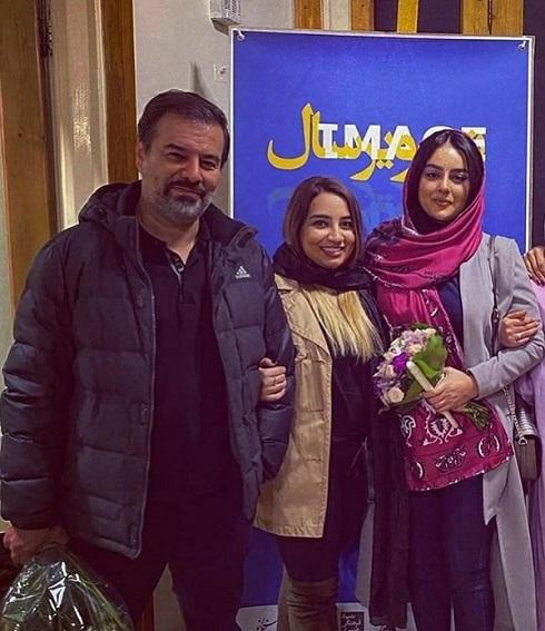 میترا ابراهیمی، پیمان قاسم خانی و نیروانا قاسم خانی دختر مهراب قاسم خانی