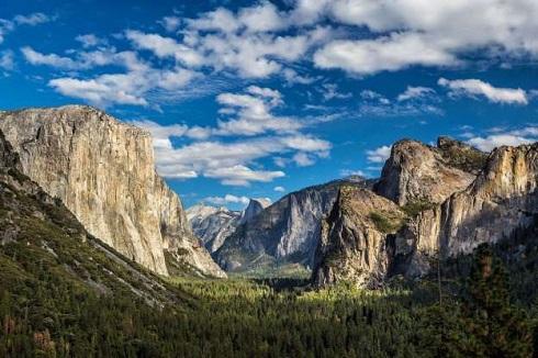 پارک ملی یوسمیتی در کالیفرنیا