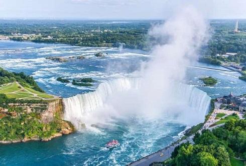 آبشارهای نیاگارا در کانادا