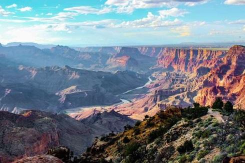 پارک ملی گراند کانیون در آریزونا