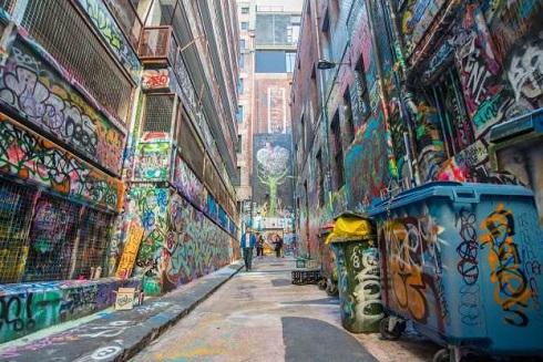 خیابان هوسیرلین در ملبورن استرالیا