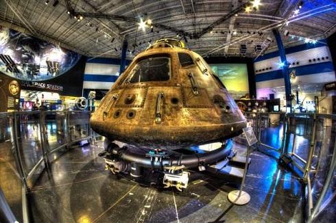 مرکز فضایی هوستون در تگزاس