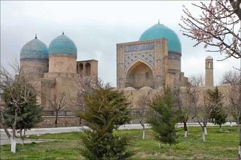مرکز تاریخی شاخری ازبکستان