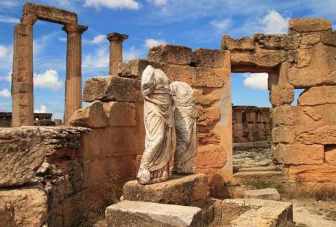 شهر باستانی سیرن لیبی