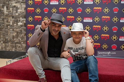 یوسف تیموری و پسرش آرمین