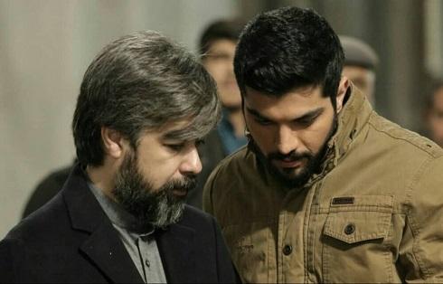 سینا مهراد و حامد عنقا در پشت صحنه آقازاده