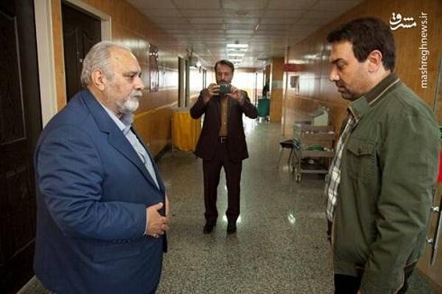 برزو ارجمند و محمد کاسبی در سریال دادستان