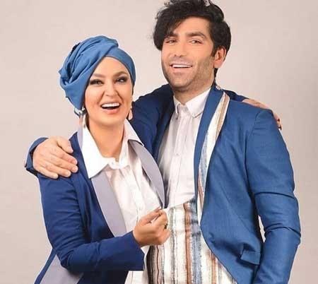 عکس فریبا طالبی و همسرش بازیگران سریال دخترم نرگس در اینستاگرام