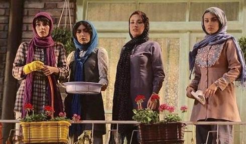 بهاره افشاری و ترلان پروانه و ساناز طاری بازیگران گشت 2