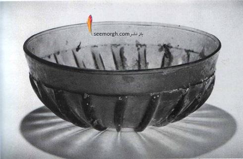 کاسه شیشه ای تراشیده شده، قرن 5 ق.م