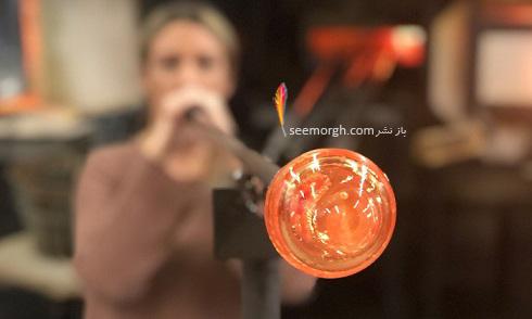 شیشه گری فوتی Glassblowing