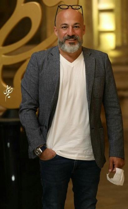 مدل کت و شلوار امیر آقایی در جشن حافظ 99, مدل کت و شلوار بازیگران مرد ایرانی در جشن حافظ 99