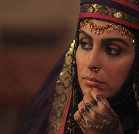 ماه چهره خلیلی بازیگر نقش جاریه در سریال مختارنامه