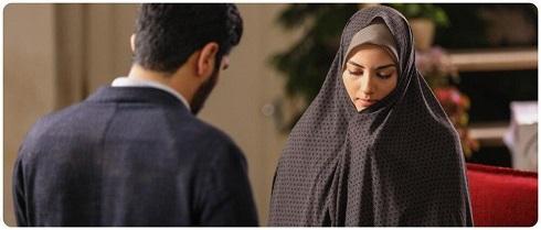 پردیس پورعابدینی و سینا مهراد در سریال آقازاده
