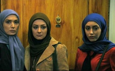 ویدا جوان و آتنه فقیه نصیری و ساناز طاری در سریال شمعدونی