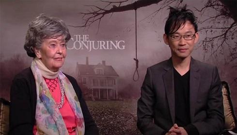 جیمز وان و لورین وارن در یک مصاحبه با محوریت فیلم احضار The Conjuring