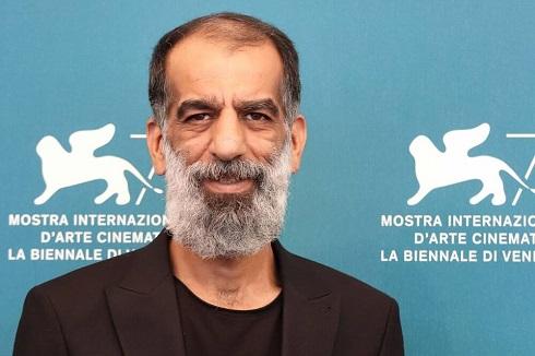 علی باقری در جشنواره فیلم ونیز