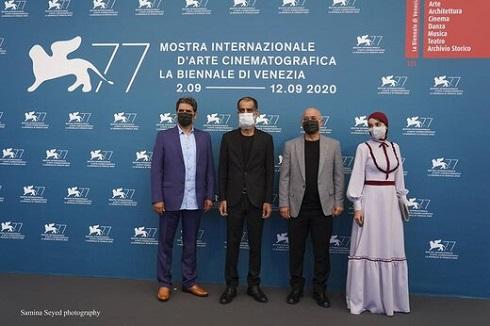 عوامل فیلم دشت خاموش در جشنواره ونیز