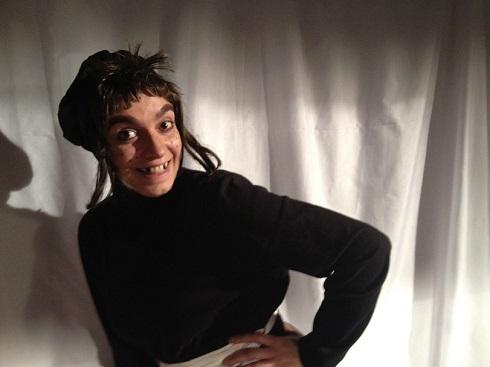 چهره الیکا عبدالرزاقی با گریم ترسناک