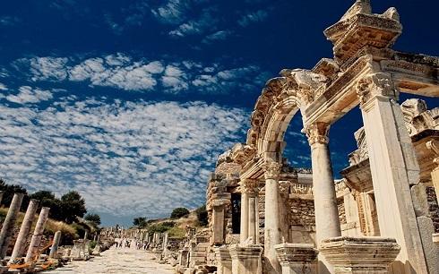 شهر تاریخی افسس ترکیه