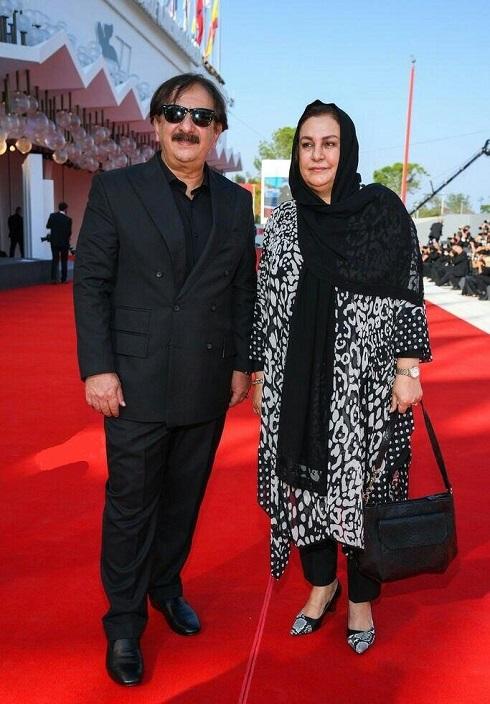مجید مجیدی و همسرش در جشتنواره فیلم ونیز