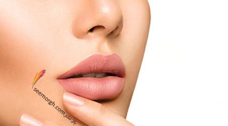 می خواهید ساده ترین راه برجستگی لبها را هنگام آرایش بدانید؟!,برجسته کردن لب های باریک با ترفند آرایشی