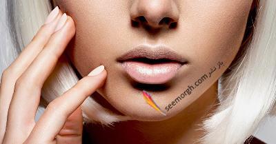 می خواهید ساده ترین راه برجستگی لبها را هنگام آرایش بدانید؟!,برجسته کردن لب های پهن و درشت با ترفند آرایشی