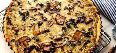 پای قارچ,جشنواره قارچ !! انواع غذا با قارچ