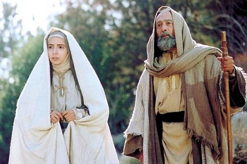 پرویز پورحسینی و شبنم قلی خانی در مریم مقدس