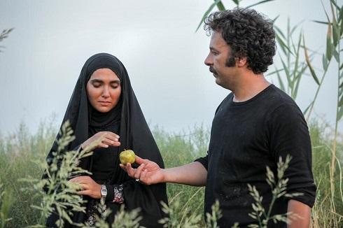 سارا رسول زاده و حسام منظور در سریال نجلا