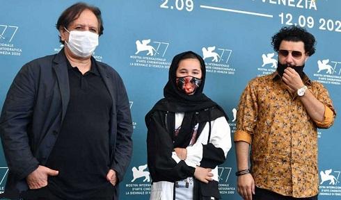 مجید مجیدی، جواد عزتی و شمیلا شیرزاد در جشنواره ونیز