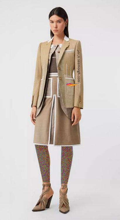 کت و دامن بربری Burberry برای پاییز 2020,کت و دامن پاییزه بربری از جدیدترین کلکسیون 2020