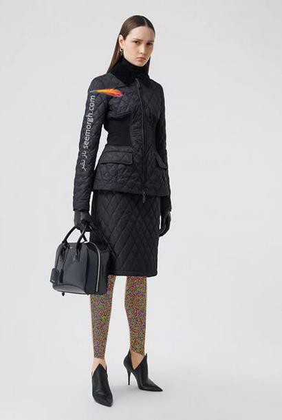 جدیدترین مدل کت و دامن بربری Burberry برای پاییز 2020,کت و دامن پاییزه بربری از جدیدترین کلکسیون 2020